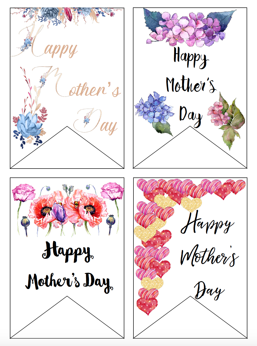 Free Printable Mother's Day Cards And Gift Tags - Free Printable Mothers Day Gifts