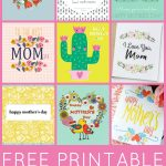 Free Printable Mother's Day Cards   Happiness Is Homemade   Free Printable Images