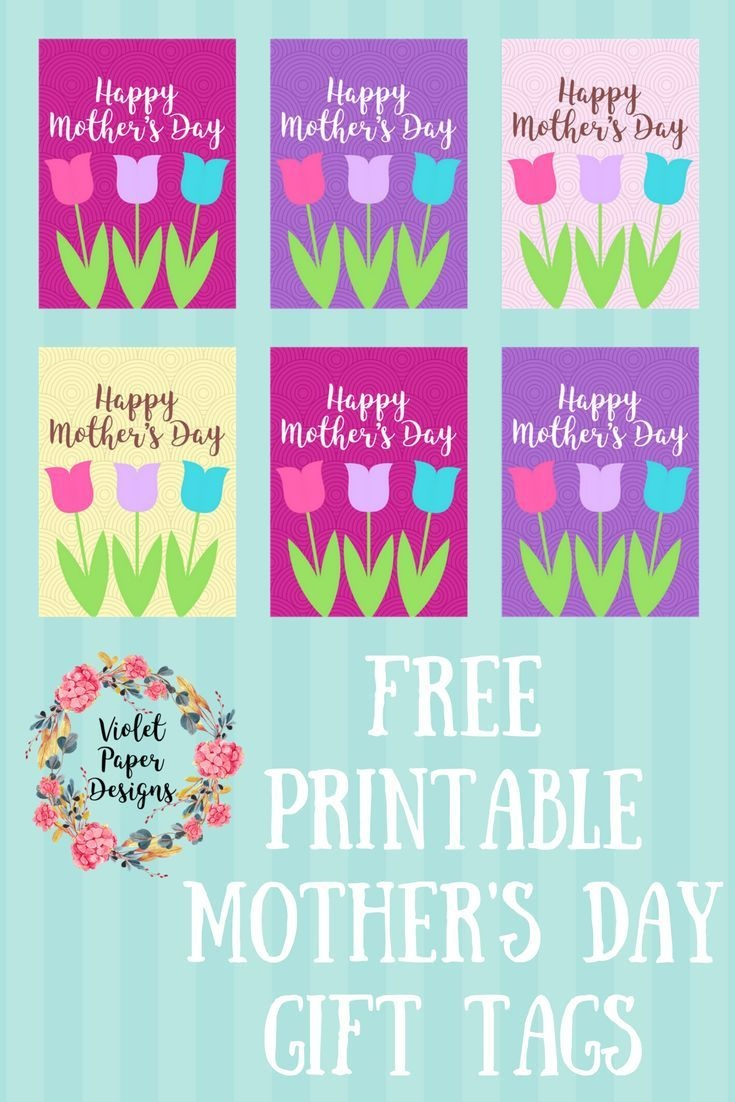 Free Printable Mother's Day Gift Tags | Mothers Day Gifts | Mother - Free Printable Mother's Day Games