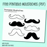 Free Printable Mustache Images   Free Printable Mustache