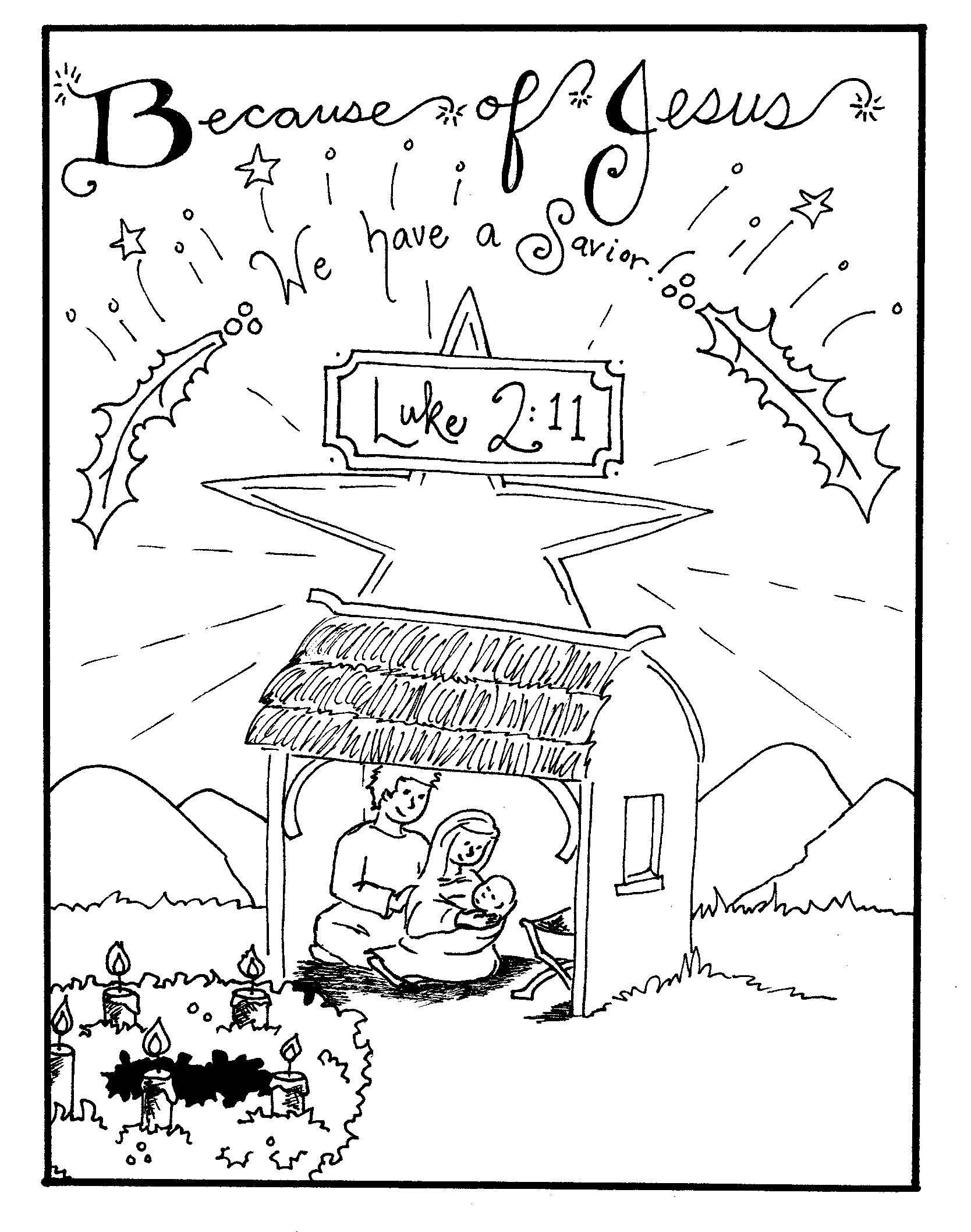 Free Printable Nativity Coloring Pages For Kids - Best Coloring - Free Printable Pictures Of Nativity Scenes