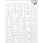 Free Printable Number Chart 1 30 | Kinder | Number Tracing   Free Printable Number Worksheets