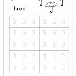 Free Printable Number Tracing And Writing (1 10) Worksheets   Number   Free Printable Number Worksheets