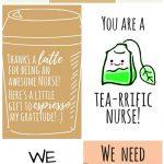 Free Printable Nurse Appreciation Thank You Cards | Gifts For Nurses   Nurses Day Cards Free Printable