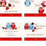 Free Printable Owl Valentine Cards | California Unpublished   Free Printable Owl Valentine Cards
