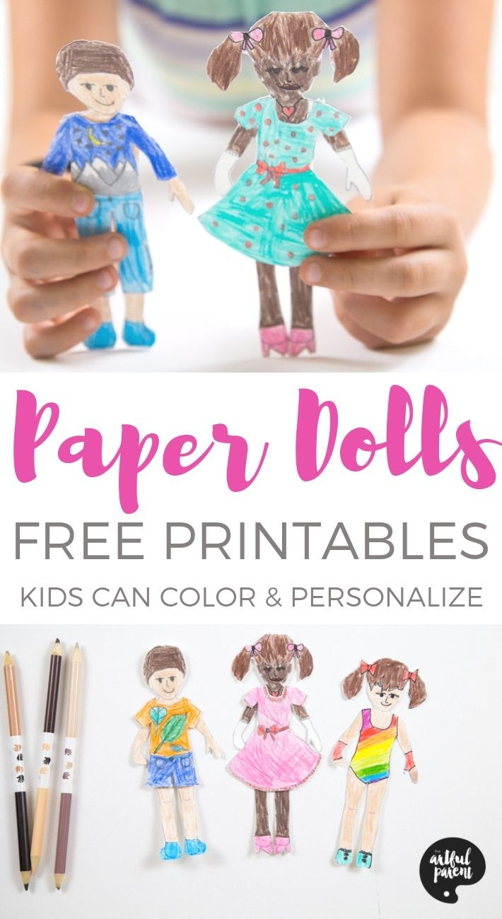 Free Printable Paper Dolls For Kids To Color And Personalize (Boy - Free Printable Paper Dolls From Around The World