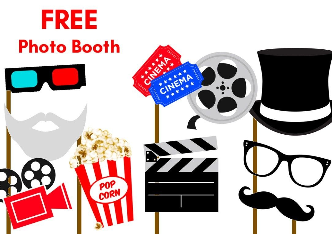 Free Printable Party Photobooth Props | Photo Booth | Photo Booth - Free Printable 70's Photo Booth Props