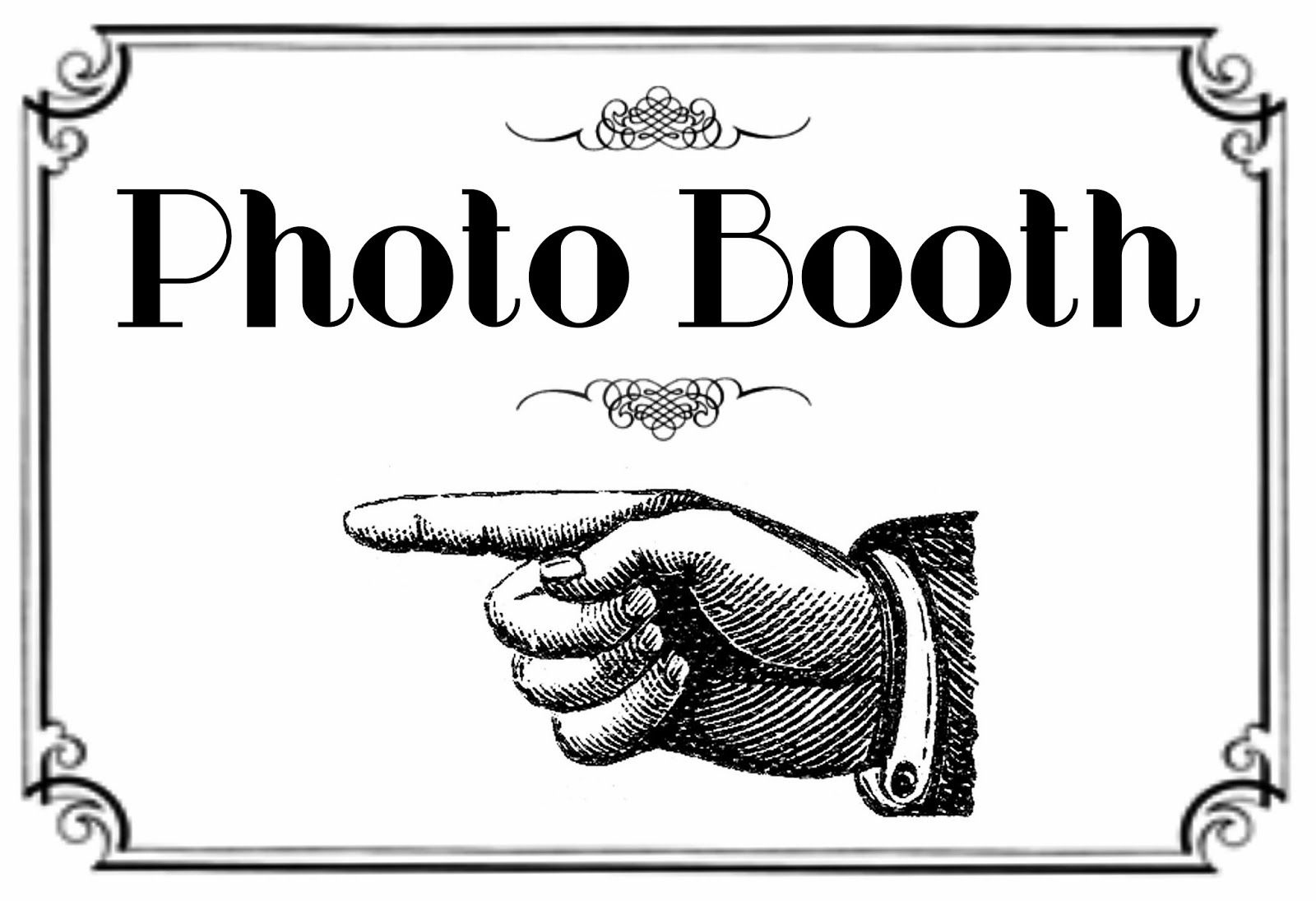 Free Printable Photo Booth Sign | Here Is The Printable For The - Free Printable Photo Booth Sign Template