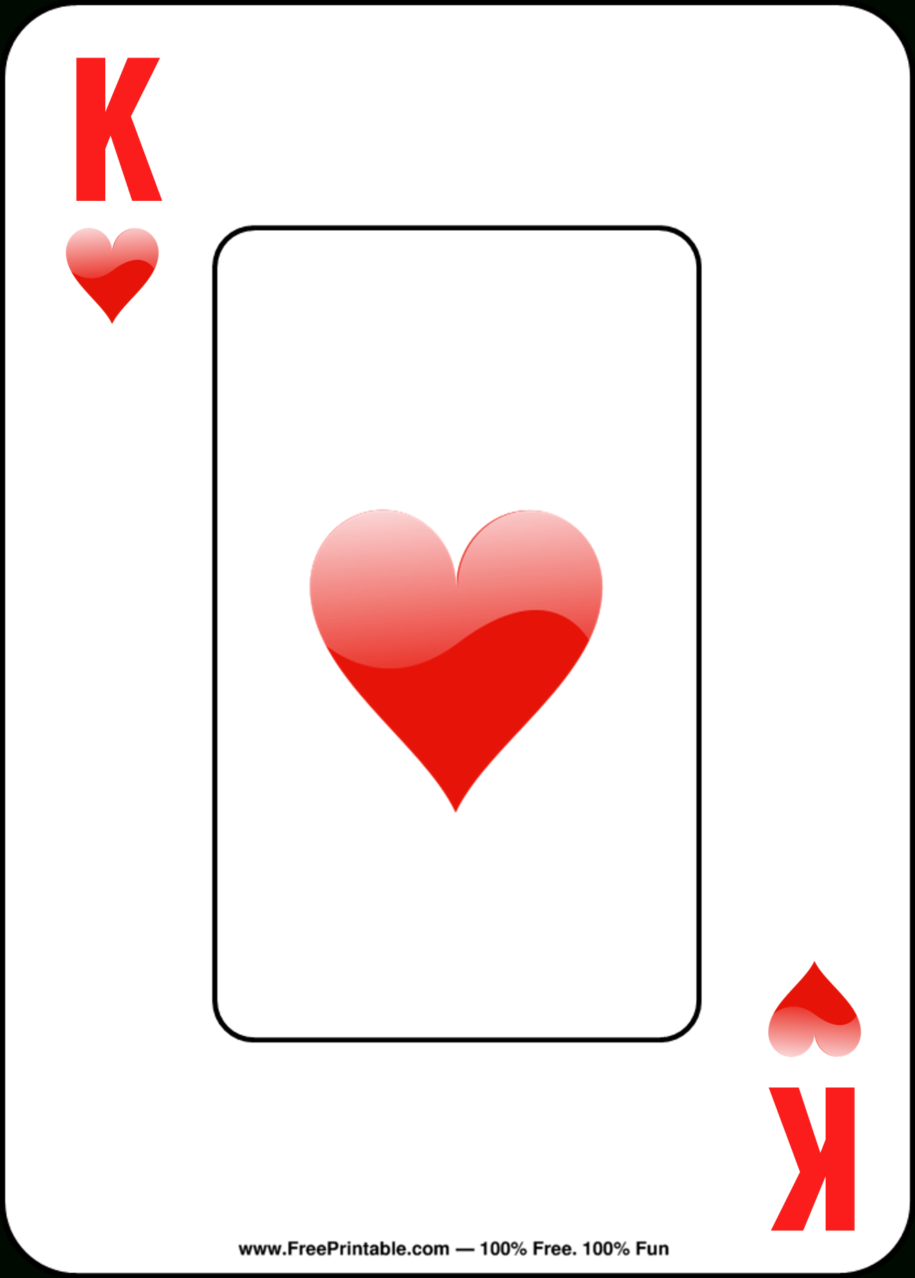 Free Printable Playing Cards - Free Printable Deck Of Cards