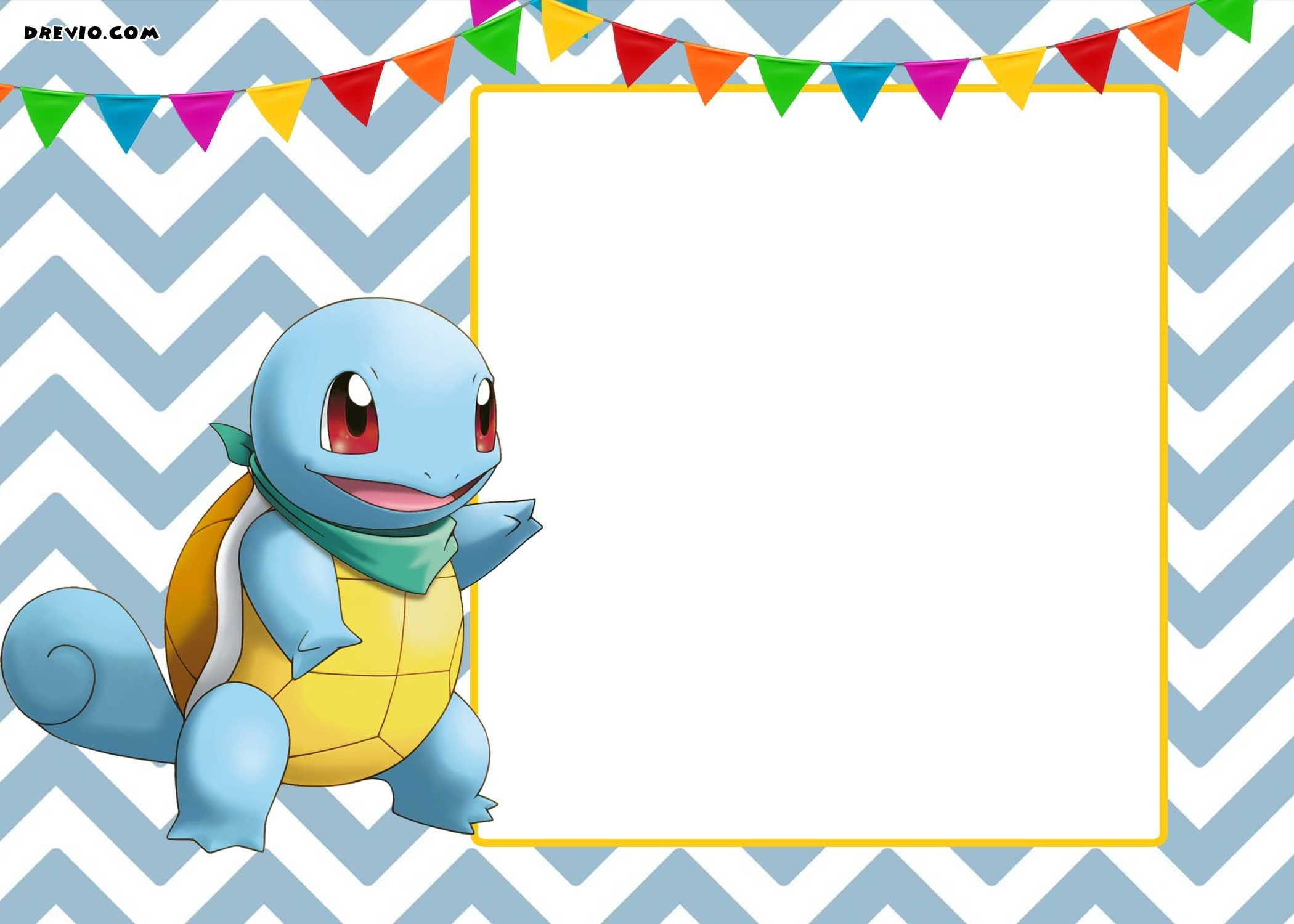 Free Printable Pokemon Invitation | Free Printable Birthday - Free Printable Pokemon Birthday Invitations