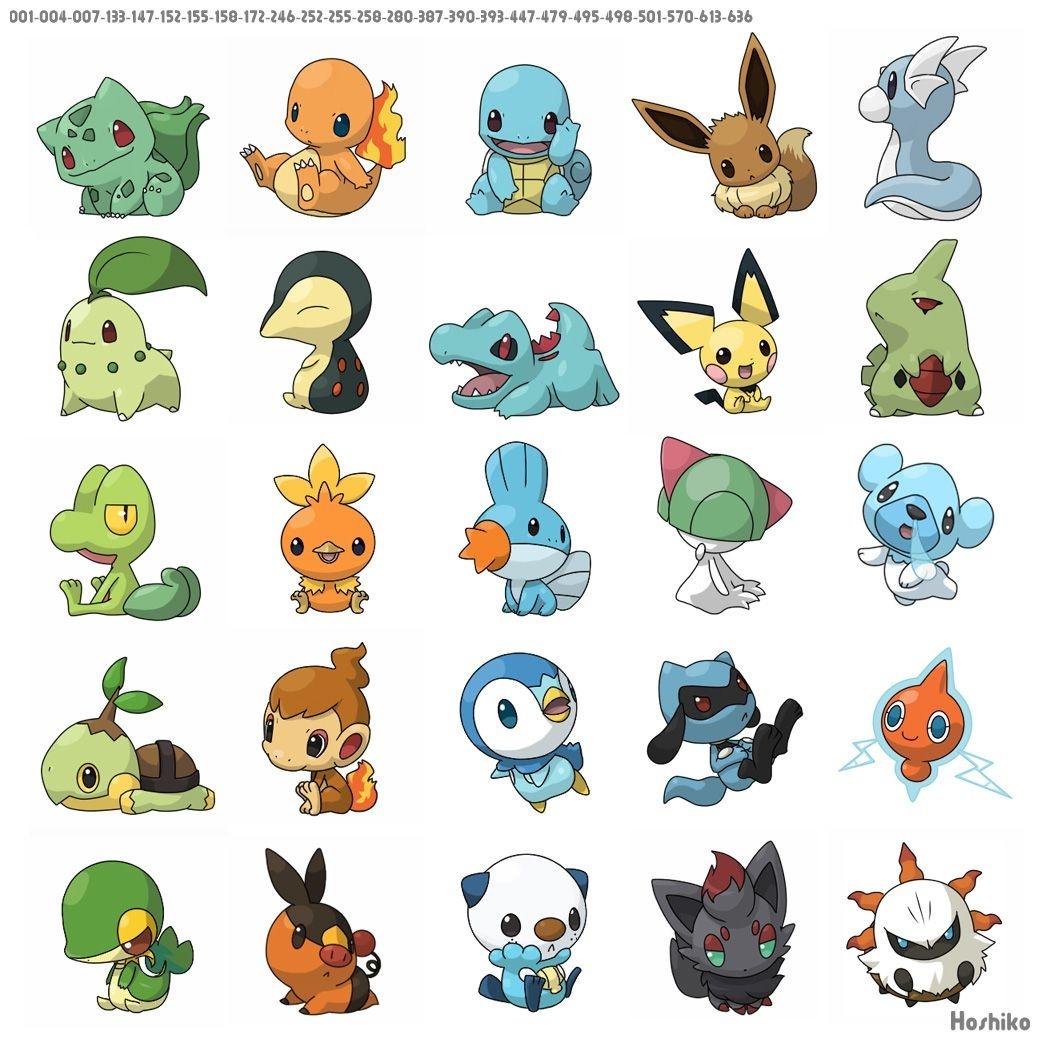 Free Printable Pokemon Stickers & Charms | Pokemon Traktatie - Free Printable Pokemon Pictures