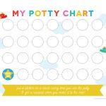 Free Printable Potty Training Chart   Free Printable Potty Training Charts