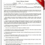 Free Printable Power Of Attorney, General Legal Forms | Free Legal   Free Printable Power Of Attorney Form Florida