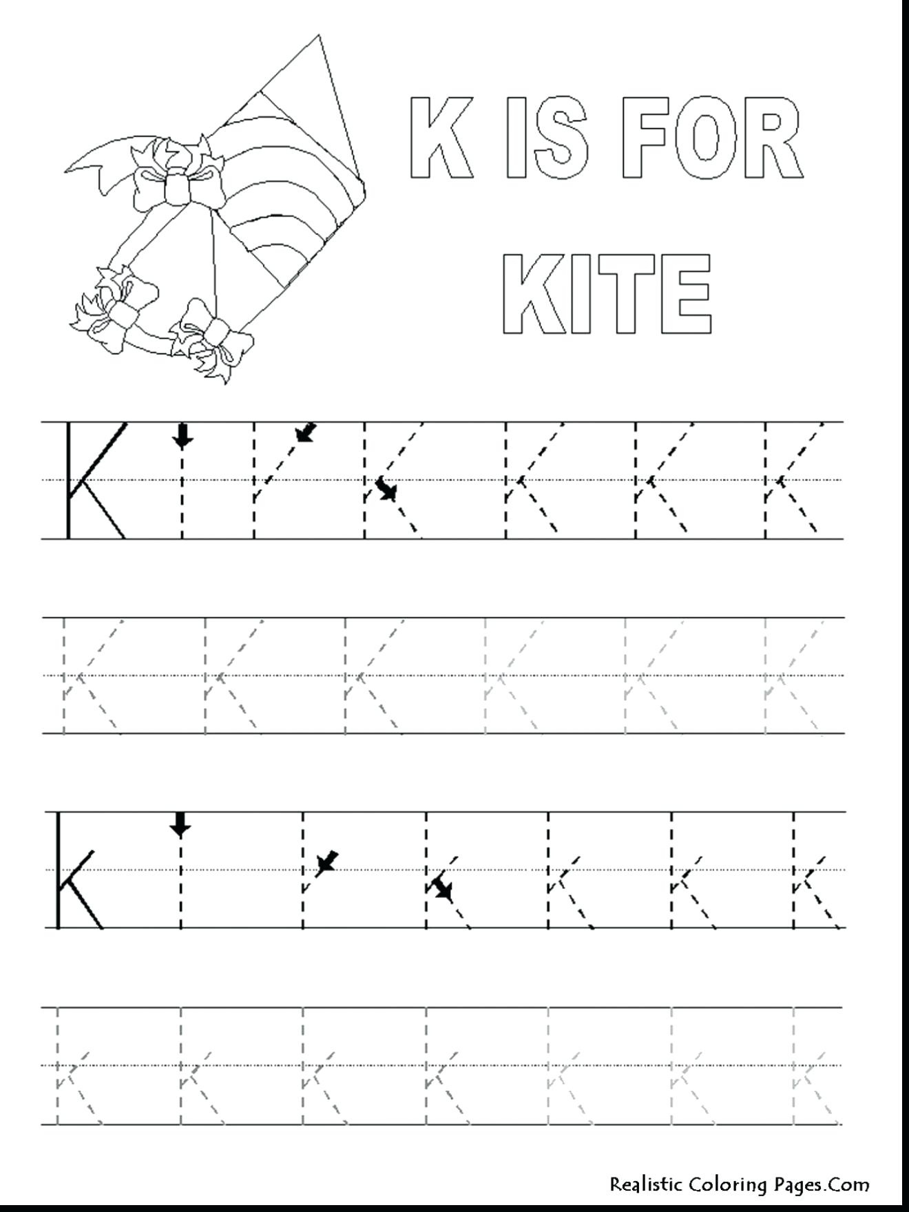 Free Printable Pre K Worksheets K Matching Worksheet Free Printable - Free Printable Preschool Worksheets Tracing Letters
