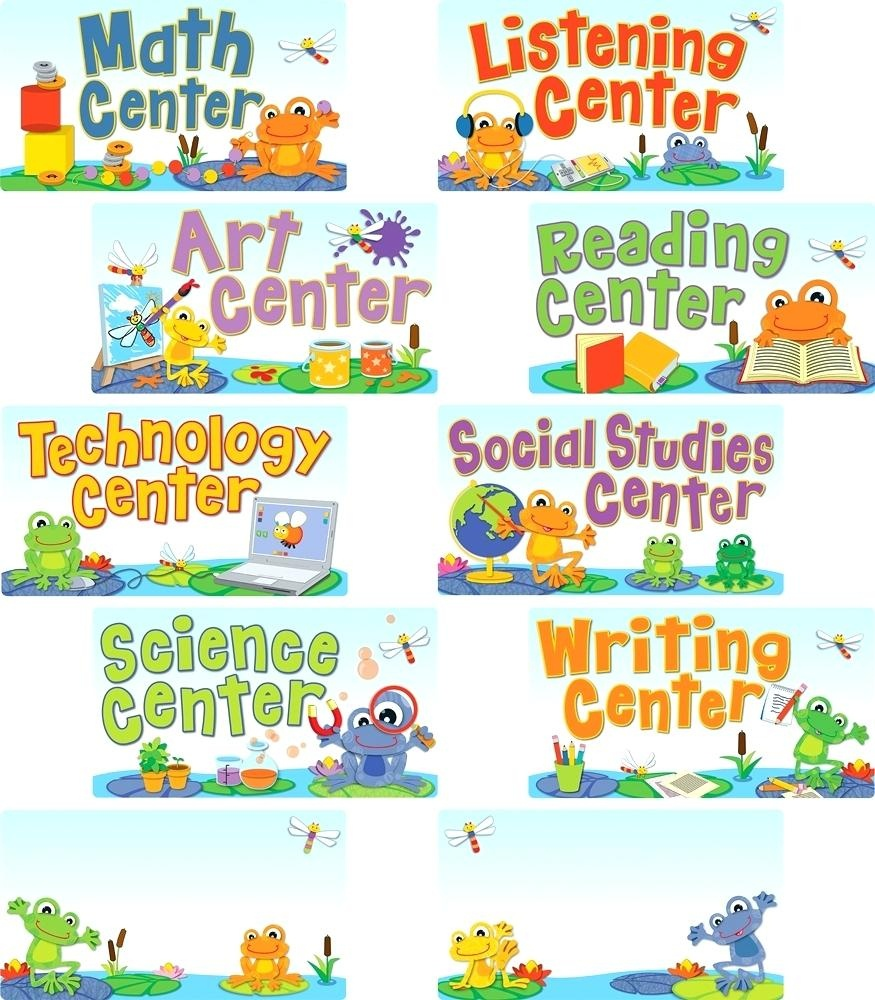 Free Printable Preschool Center Signs – Minecrafttoys.club - Free Printable Center Signs For Pre K