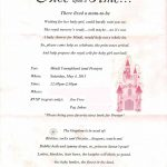 Free Printable Princess Baby Shower Invitations Famous Bottle   Free Printable Princess Baby Shower Invitations