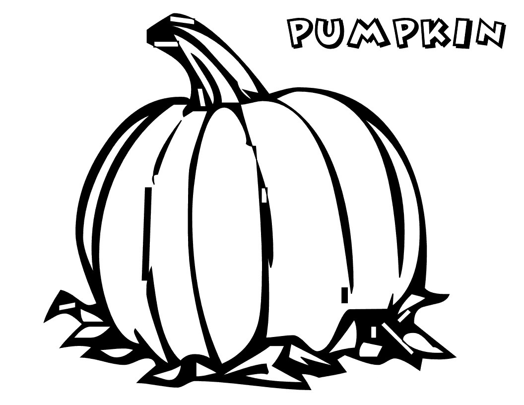 Free Printable Pumpkin Coloring Pages For Kids - Free Printable Pumpkin Books