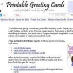Free Printable Quarter Fold Christmas Cards – Festival Collections   Free Printable Quarter Fold Christmas Cards