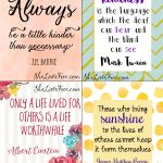 Free Printable Quotes To Inspire Kindness: Lunch Notes For Kids   Free Printable Quotes And Sayings