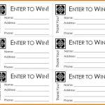 Free Printable Raffle Ticket Template Raffle Ticket Templates   Free Printable Raffle Ticket Template