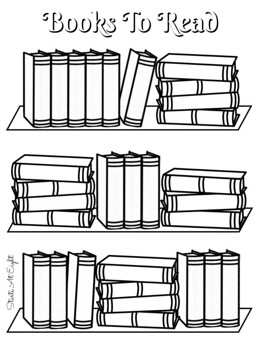 Free Printable Reading Logs ~ Full Sized Or Adjustable For Your - Free Printable Books
