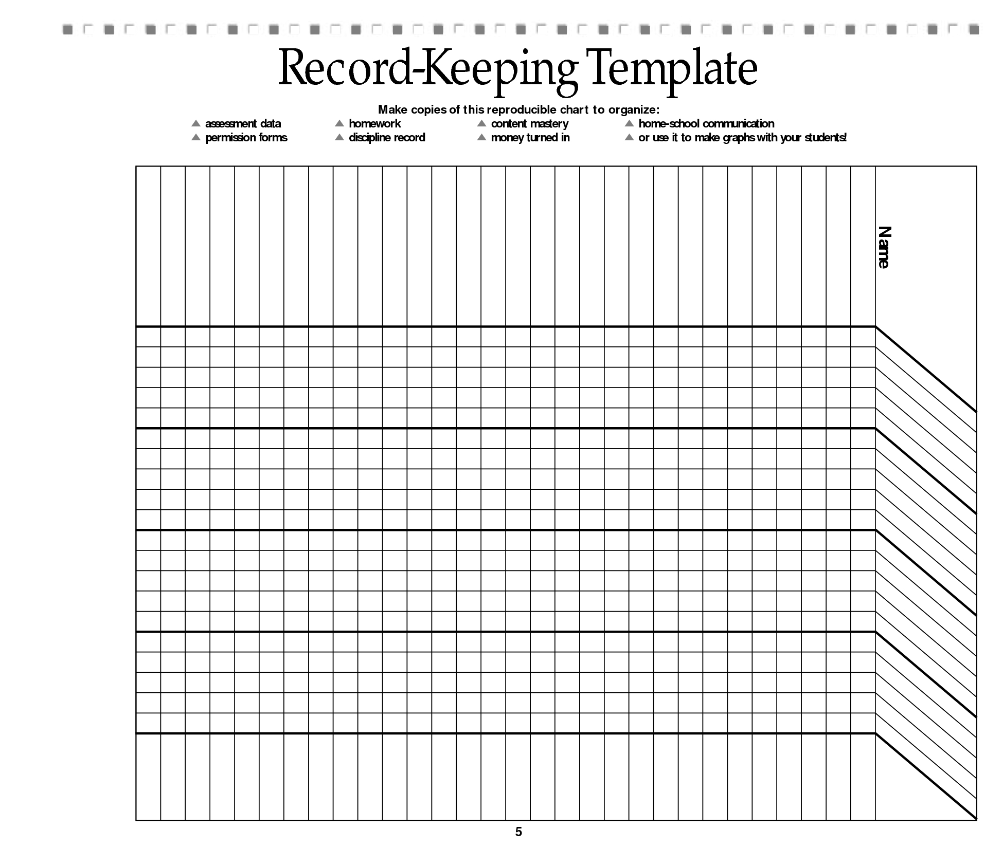 Free Printable Record Keeping Forms | Classroom | Homeschool - Free Printable Attendance Sheets For Homeschool