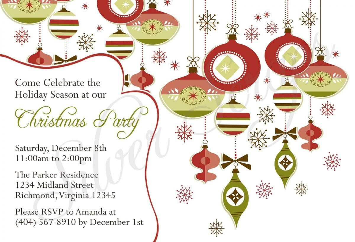 Free Printable Religious Christmas Invitations – Festival - Free Printable Religious Christmas Invitations