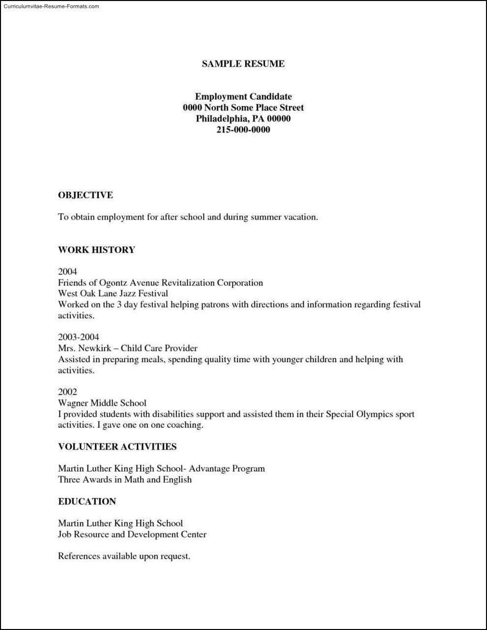 Free Printable Resumes Templates Free Samples Examples Format Resume - Free Printable Professional Resume Templates