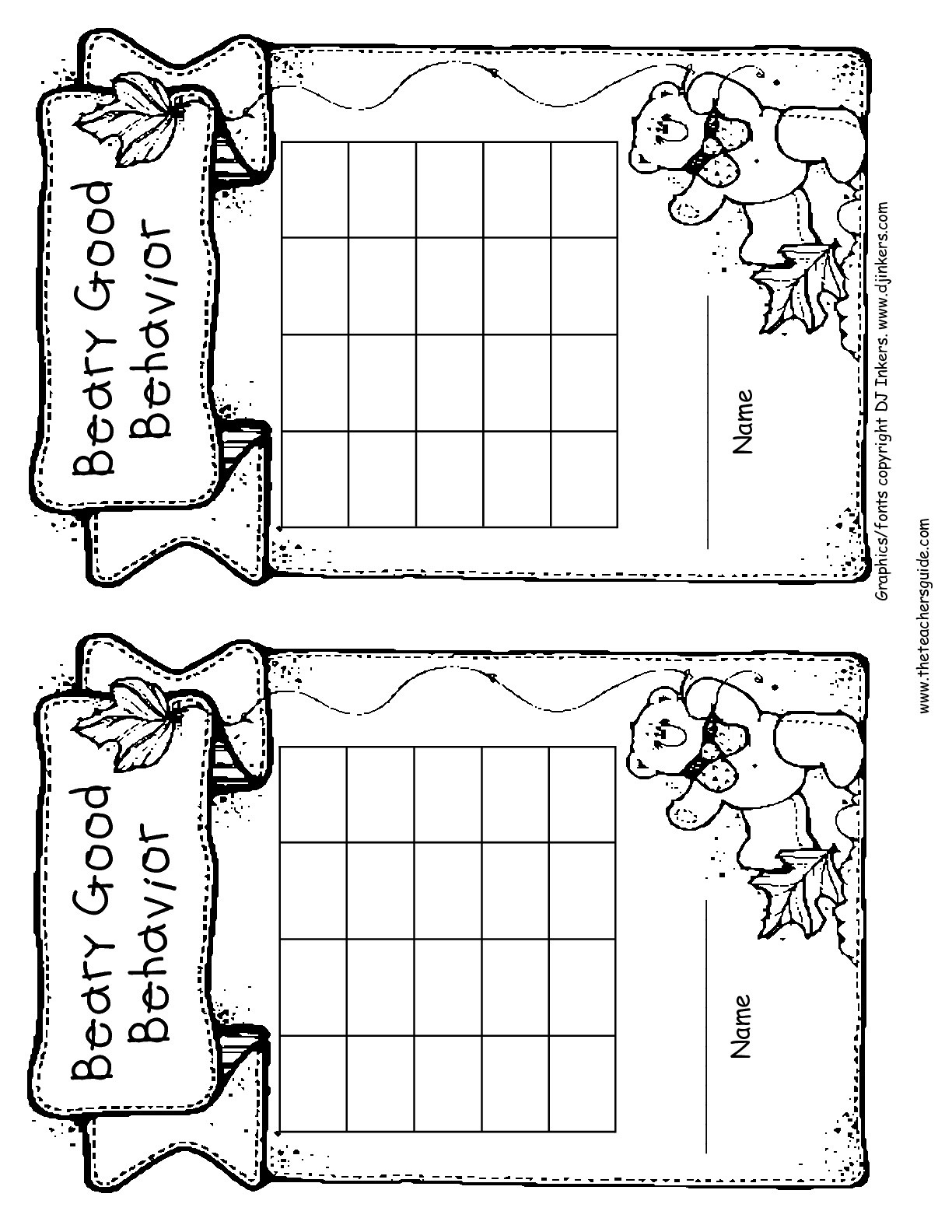 Free Printable Reward And Incentive Charts - Free Printable Incentive Charts For Students