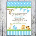 Free Printable Safari Baby Shower Invitations Best Baby Shower   Free Printable Jungle Safari Baby Shower Invitations