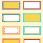 Free Printable School Tags Free Printable Blank Name Tags 683077   Free Printable Name Tags