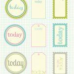 Free Printable Scrapbook Cutouts | Printable For All Topics   Free Printable Scrapbook Pages
