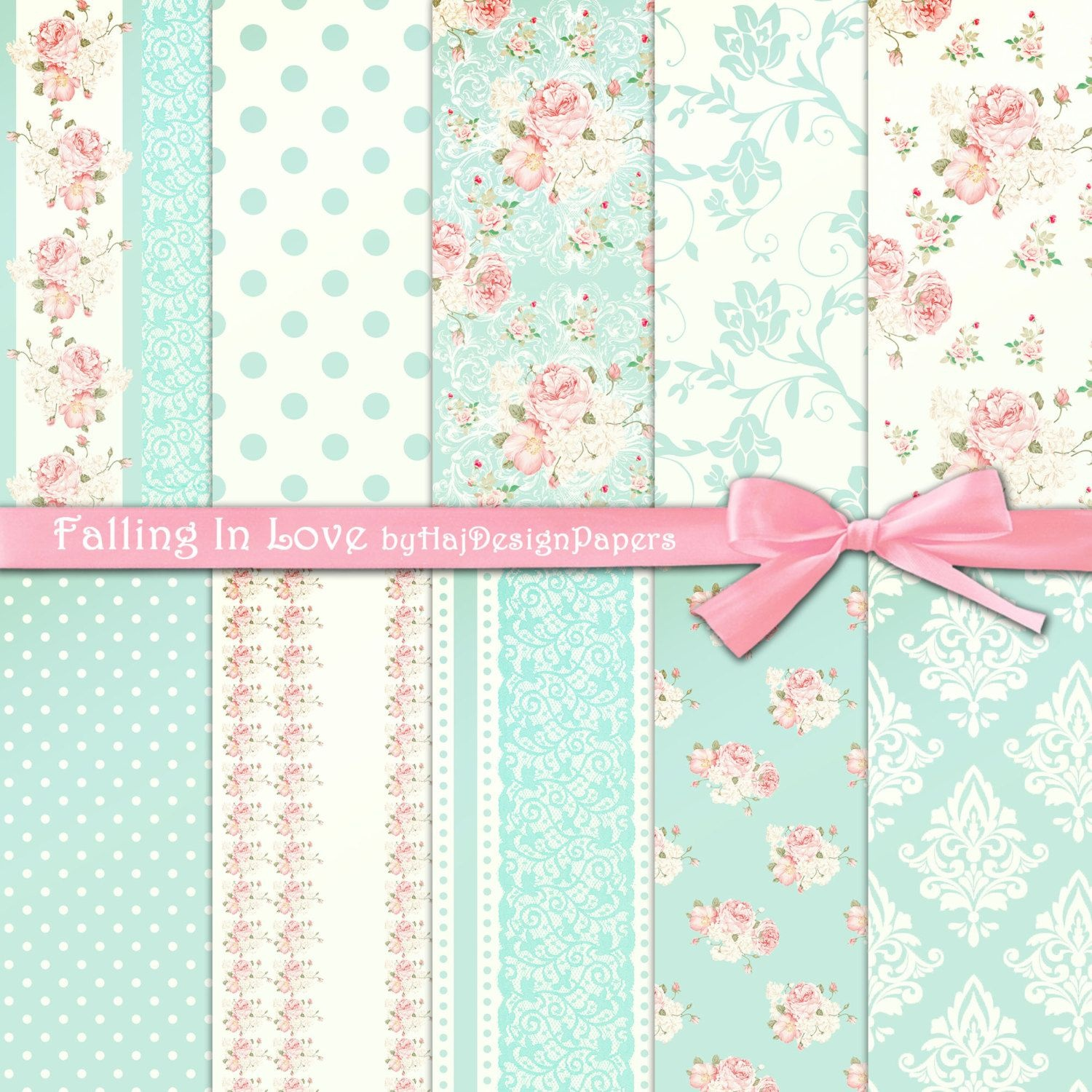 Free Printable Shabby Chic Paper - Google Search | Free Printables - Free Printable Scrapbook Paper