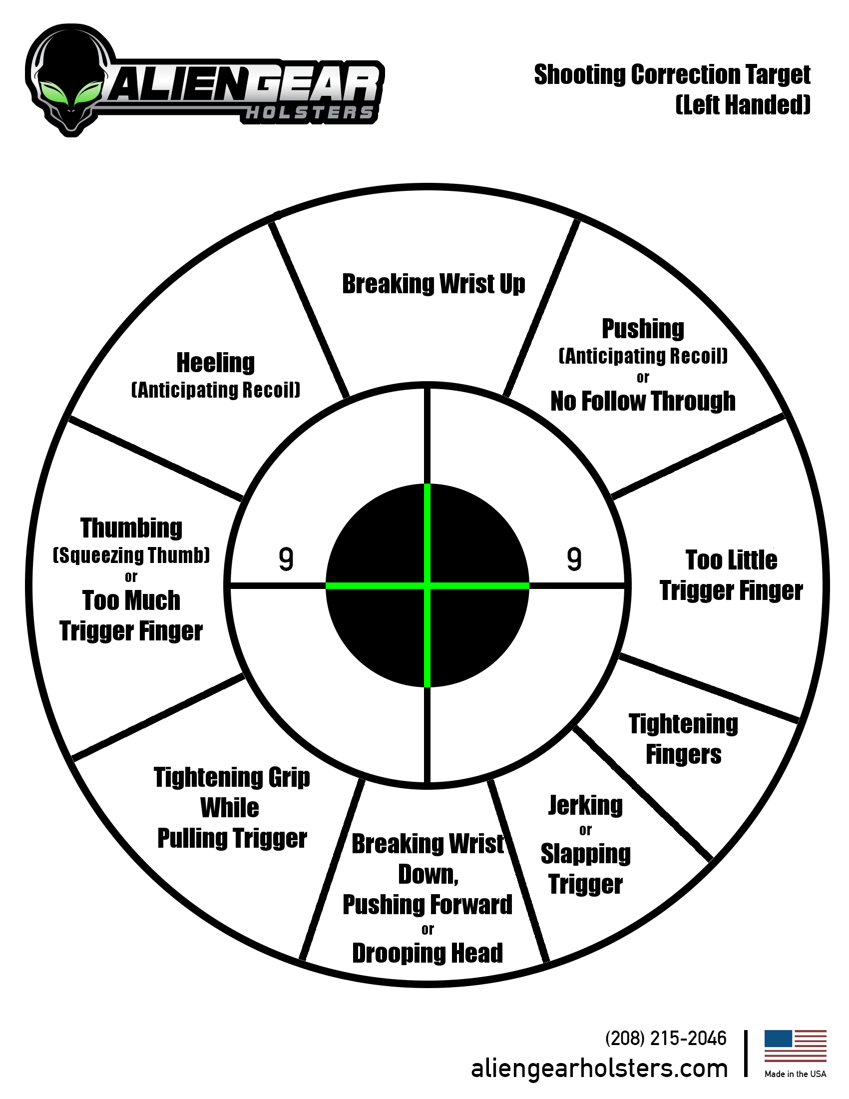 Free Printable Shooting Targets - Free Printable Gears
