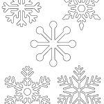 Free Printable Snowflake Templates – Large & Small Stencil Patterns   Snowflake Template Free Printable
