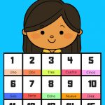 Free Printable Spanish Flashcards Numbers 1 30   Free Printable Number Cards