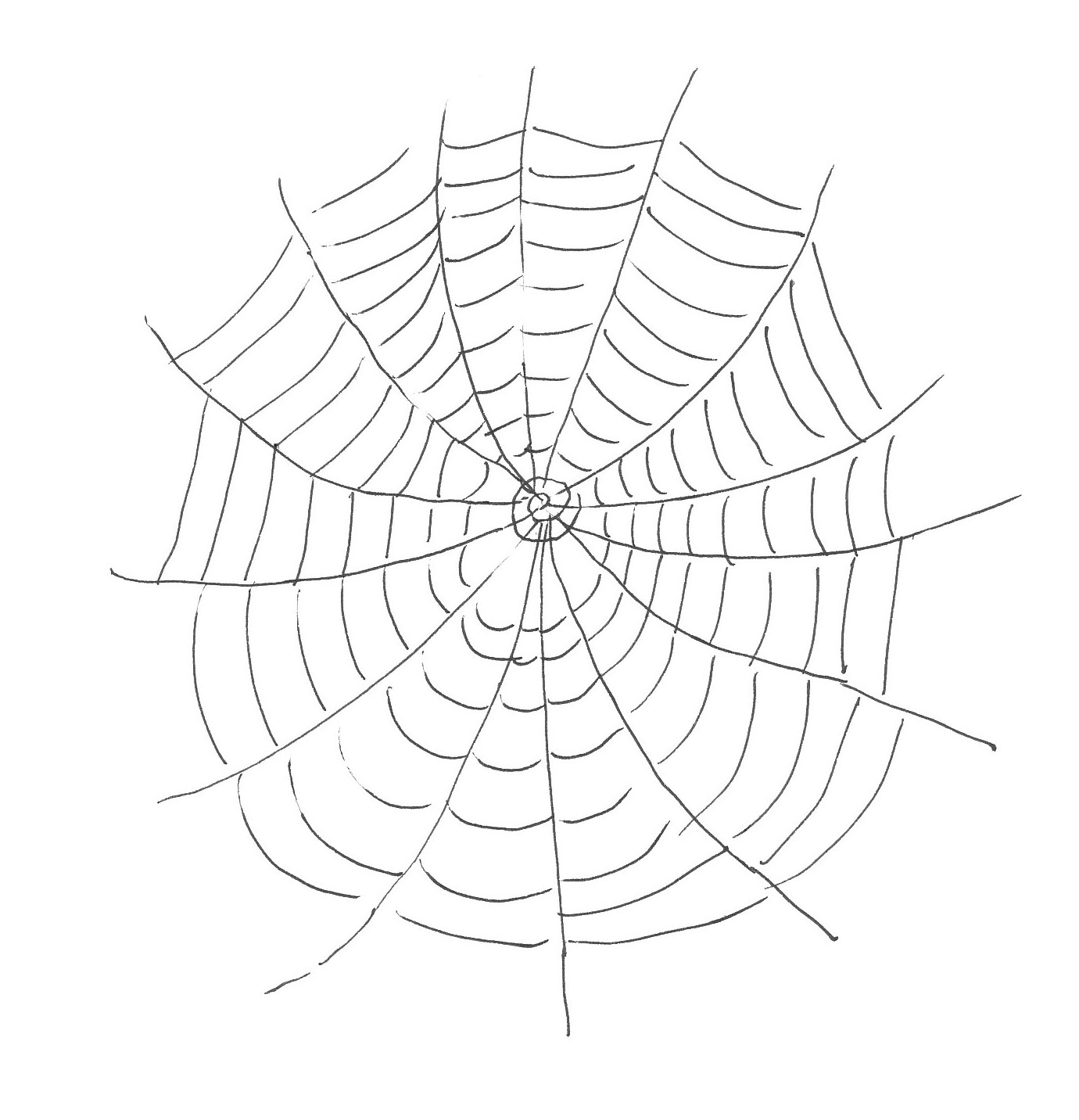 Free Printable Spider Web Coloring Pages For Kids - Spider Web Stencil Free Printable