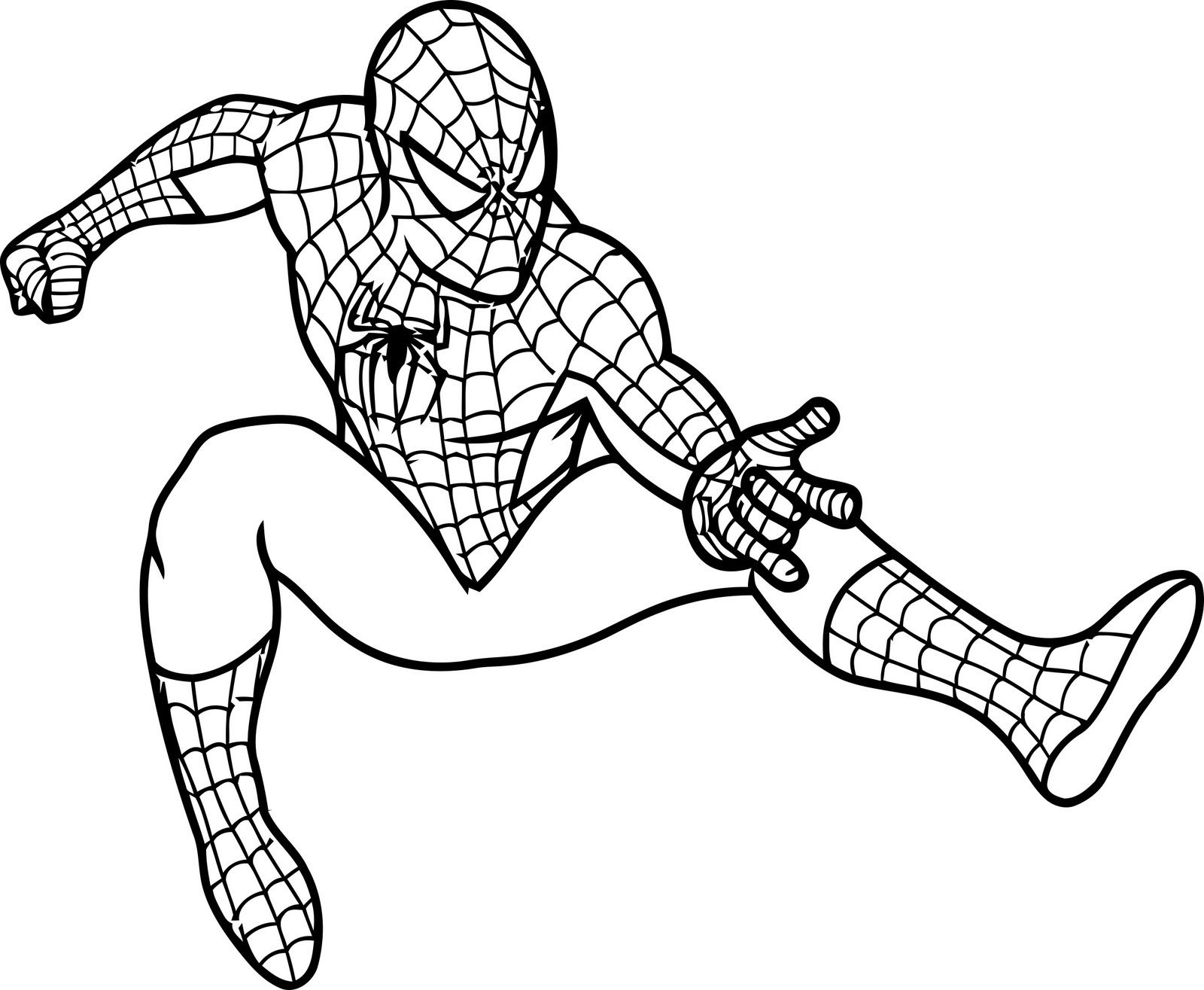 Free Printable Spiderman Coloring Pages For Kids | Projects To Try - Free Printable Spiderman Pictures