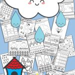 Free Printable Spring No Prep Kindergarten 130+ Page Worksheet Book   Free Printable Pre K Reading Books