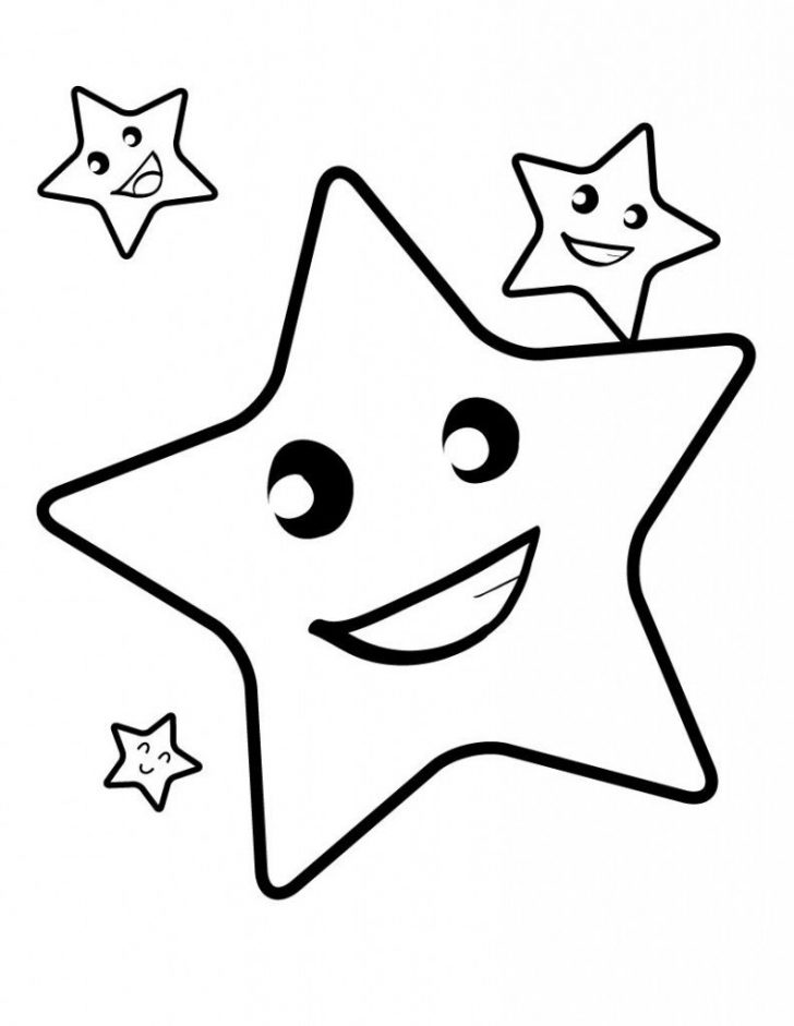 Free Printable Christmas Star Coloring Pages