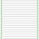 Free Printable Stationery For Kids, Free Lined Kids Writing Paper   Free Printable Writing Paper For Adults