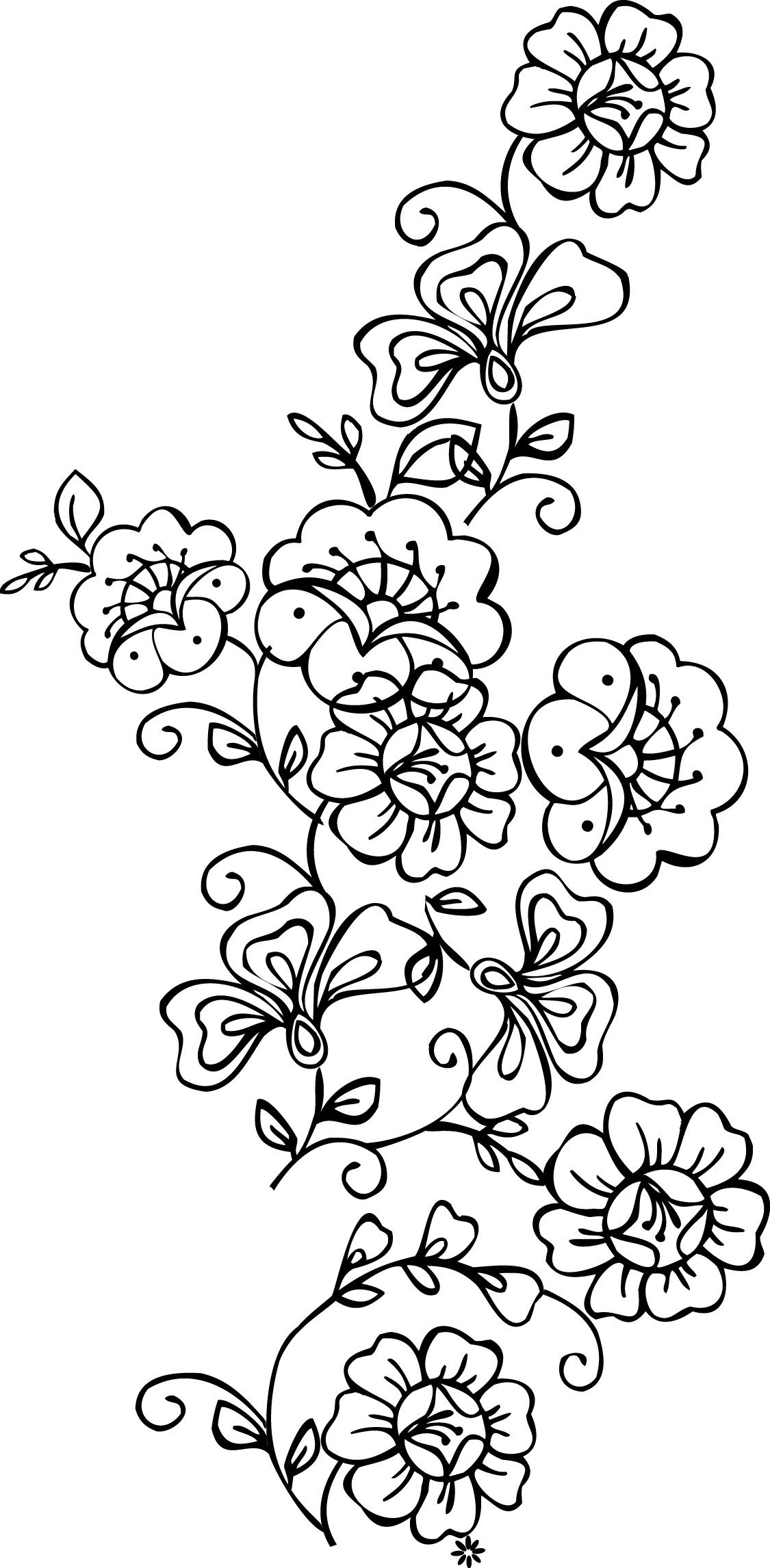 Free Printable Stencils Of Trees   Stencils Designs Free Printable - Free Printable Wall Stencils For Painting