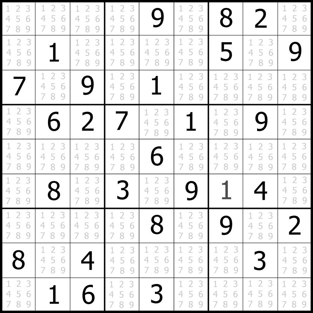 Free Printable Sudoku | Free Printable - Free Printable Sudoku Pdf - Free Printable Sudoku Pdf