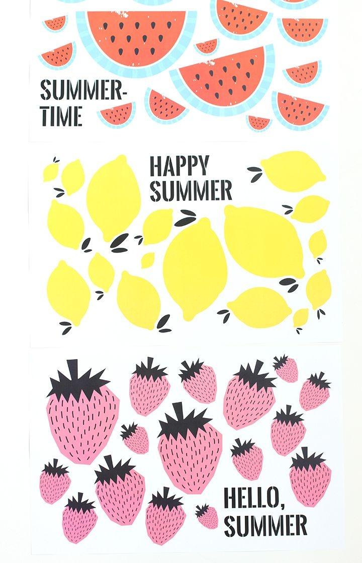 Free Printable Summer Placemats | Diy | Free Printables, Free - Free Printable Summer Pictures