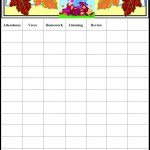 Free Printable Sunday School Attendance Chart Visit The Immanuel   Free Printable Sunday School Attendance Sheet