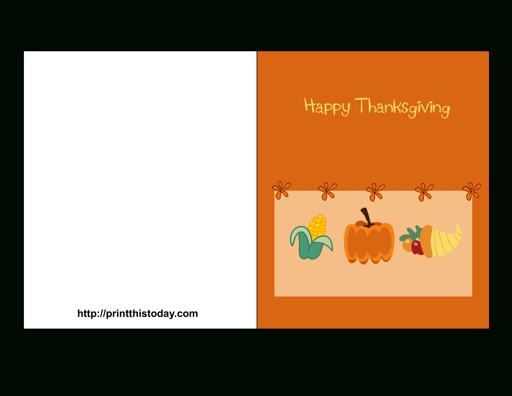 Free Printable Thanksgiving Cards - Happy Thanksgiving Cards Free Printable