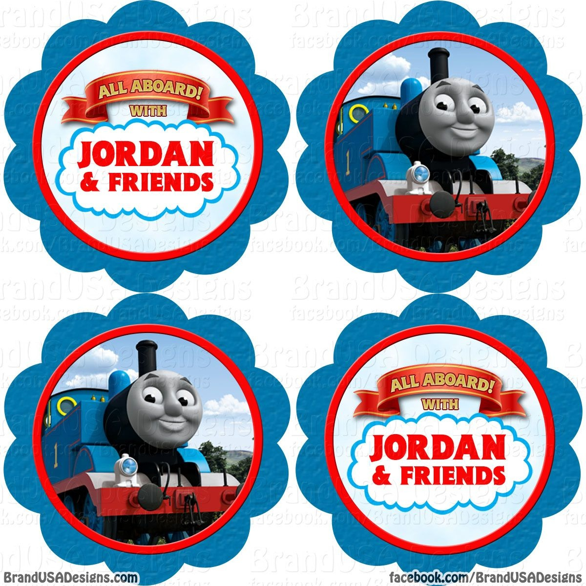 Free Printable Thomas The Train Cup Cake Toppers - Google Search - Free Printable Thomas The Train Cupcake Toppers
