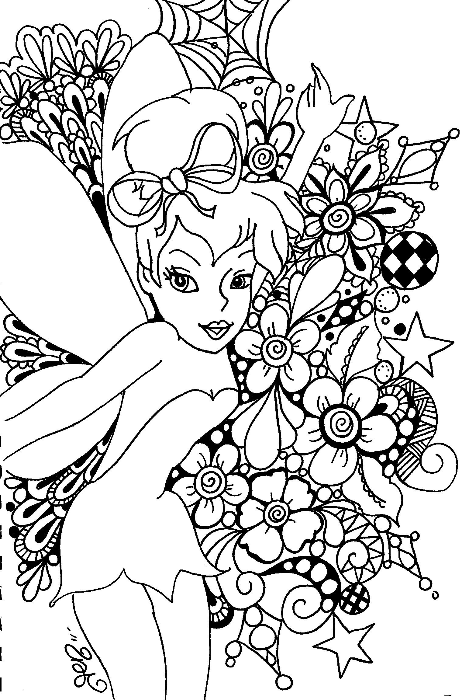 Free Printable Tinkerbell Coloring Pages For Kids   Art!!   Fairy - Tinkerbell Coloring Pages Printable Free