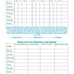 Free Printable Toddler Behavior Chart For 1, 2, 3, 4 And 5 Year Olds   Reward Charts For Toddlers Free Printable