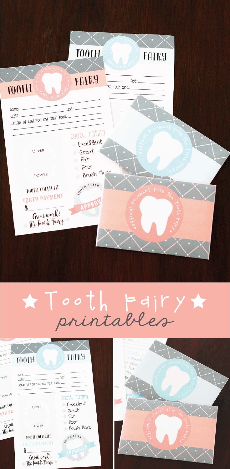 Free Printable Tooth Fairy Letter With Matching Enevelopes | Skip To - Free Printable Tooth Fairy Letter And Envelope